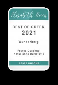 Best of Green 2021 - Festes Duschgel Natur